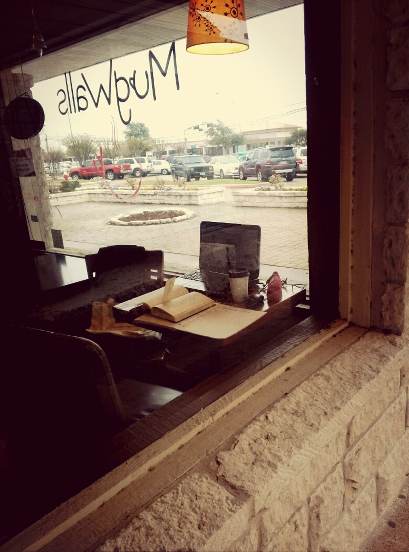my study place Cafe Americano