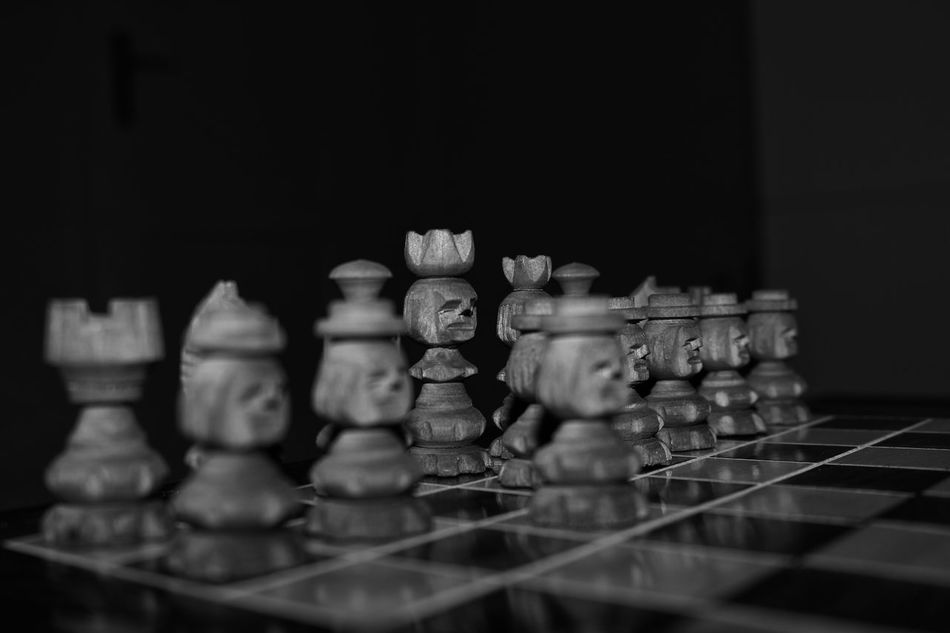 Black Black & White Black And White Collection  Black And White Photography Blackandwhite Blackandwhite Photography Chess Chess Blackwhite Schwarzweiß Chess Board Chess Game Chess Piece Chessboard Chessgame Chesspieces Close Up Close-up Closeup Contrast King - Chess Piece Large Group Of Objects Other Perspective Other Perspectives Other View Strategy