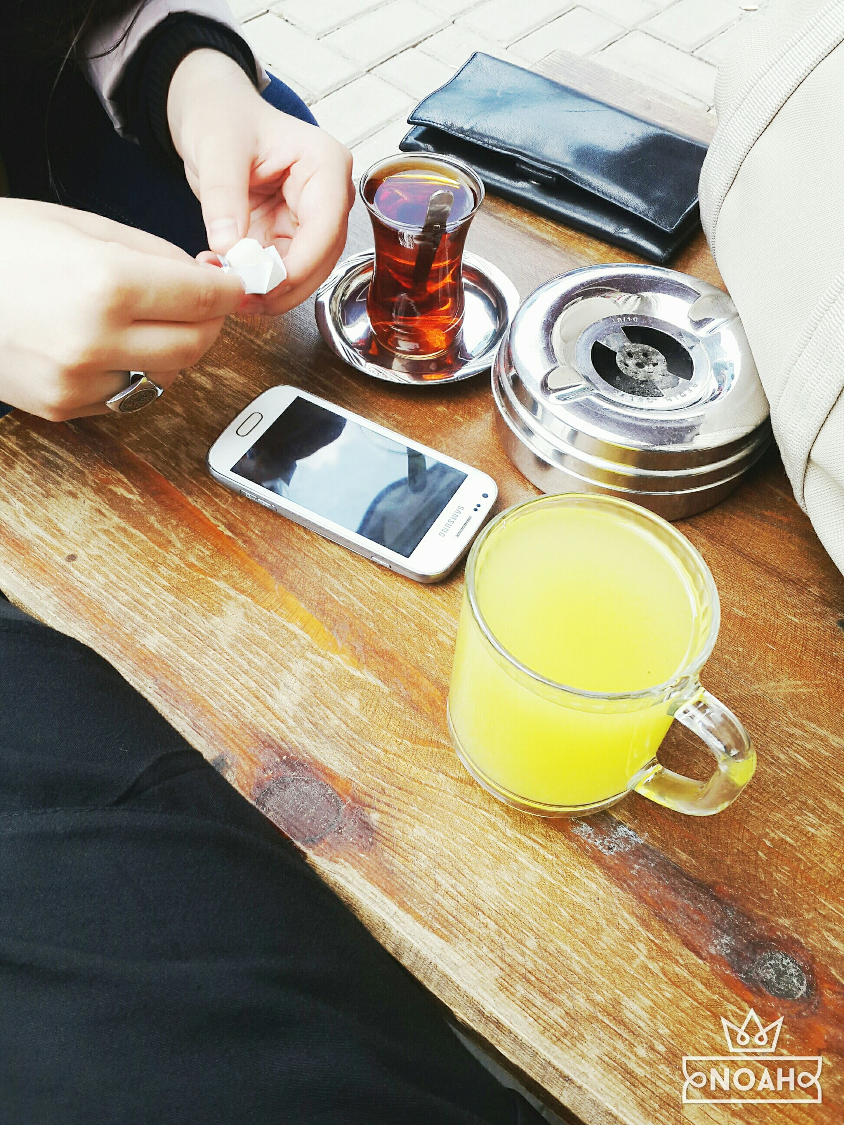 person, indoors, holding, food and drink, part of, drink, cropped, lifestyles, human finger, high angle view, unrecognizable person, men, coffee cup, refreshment, table, coffee - drink, leisure activity