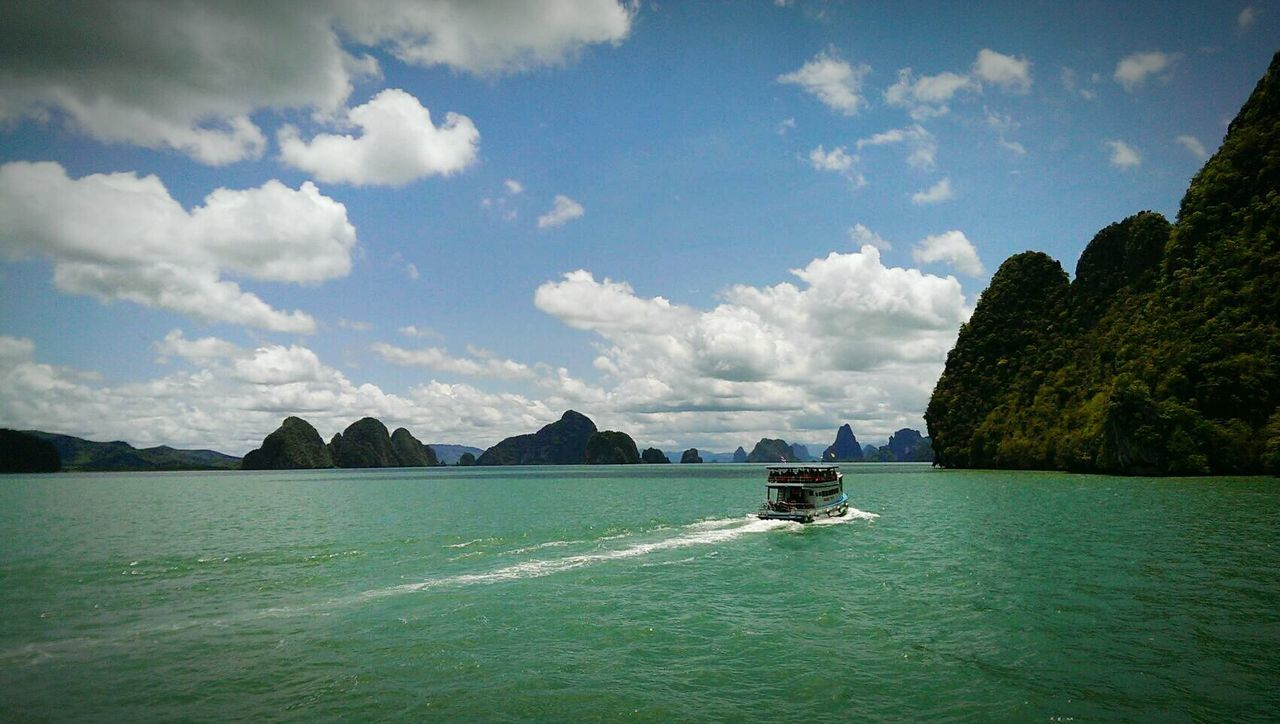 The Journey Is The Destination Thailandtravel Thaistyle หลีเปะ On The Way