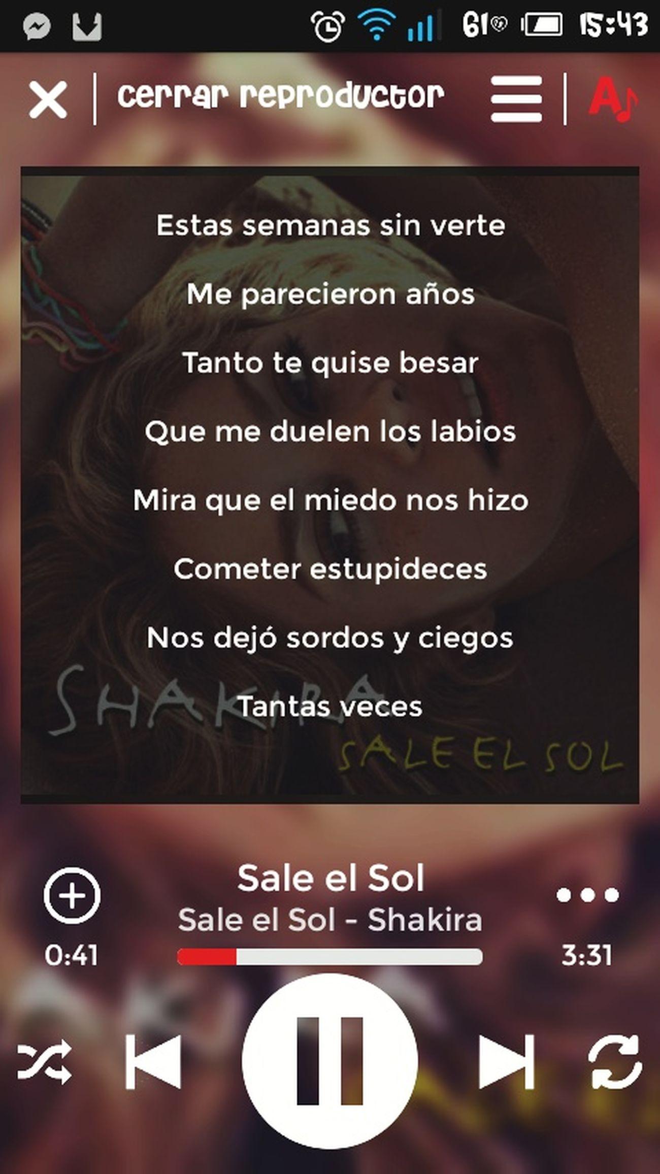 Playlist Music Play Shakira Good Thelifewithoutmusicisanerror Meencanta