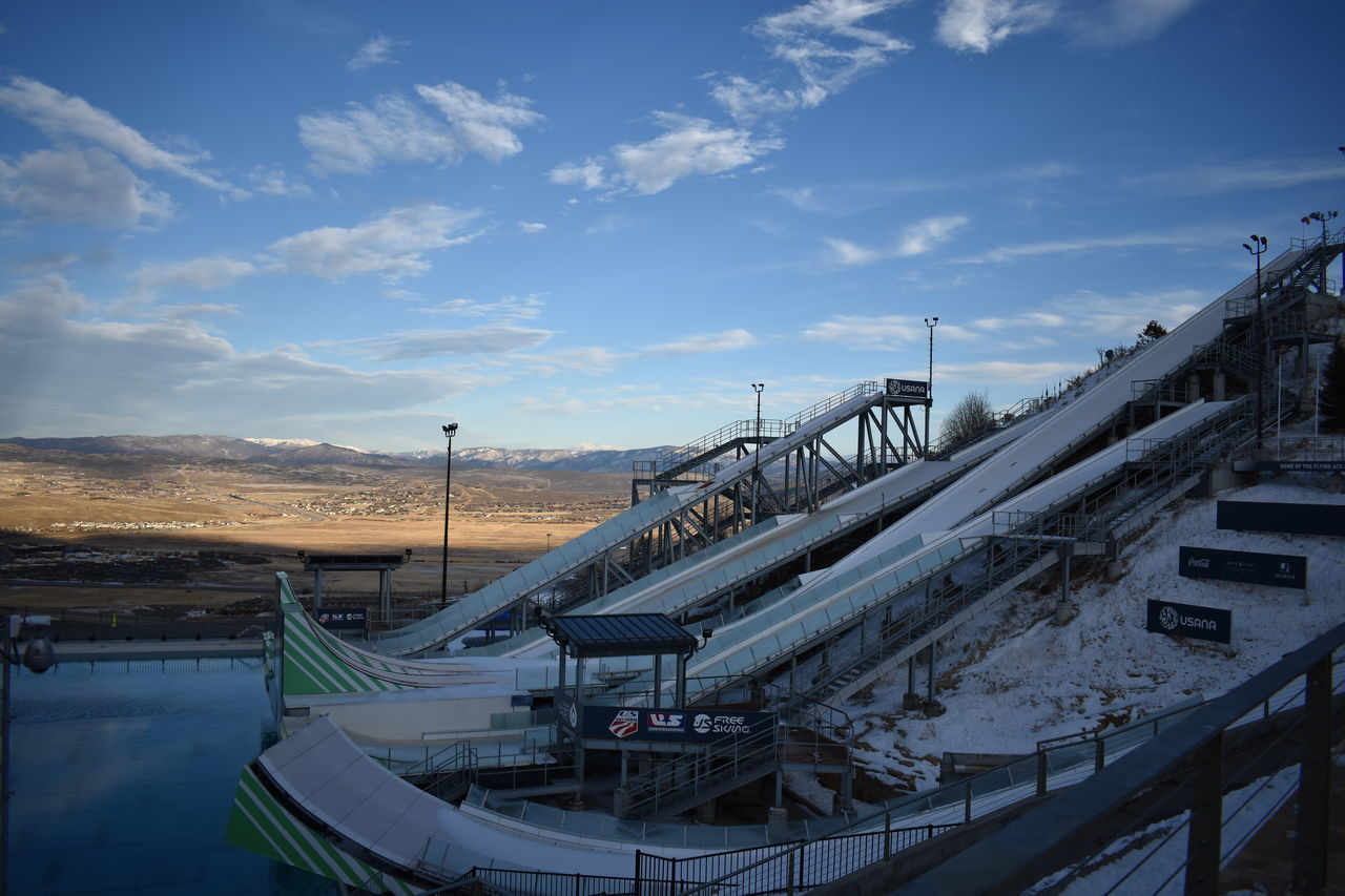 2002 Amazing Away Clouds Cold Explore Famous Place Medals Olympic Olympic Park  Park Pretty Ski Travel Winter
