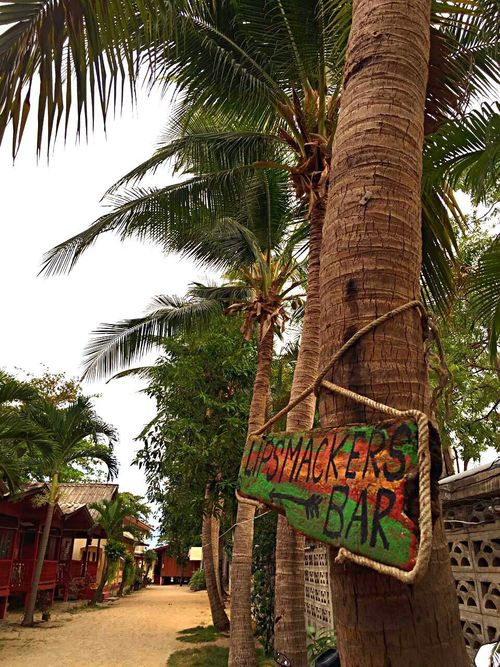 Beach Way Way To Beach Way To Bar Reggea Bar Chill Out Thailand Koh Samui Beach House Beach Life Palm Tree Building Exterior Traveling I Love Thailand Travel Travel Photography Vacations Small House And Beach Way Sign For Bar IPhoneography EyeEm Nature Lover