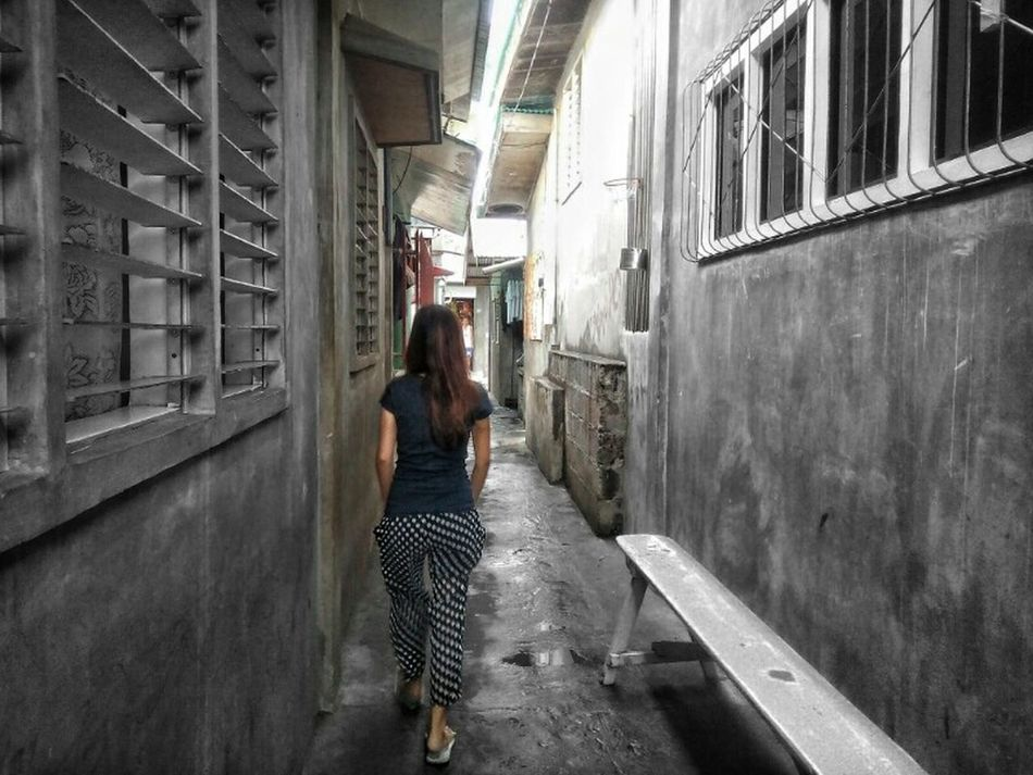 walk away. EyeemPhotos Outdoors Capture The Moment Portrait Photography Eyeem Philippines Colour Of Life Mobilephotography Fresh On Eyeem  Narrow Alley The Way Forward The Week On EyeEm Calmness Never Look Back  Live Life To The Fullest