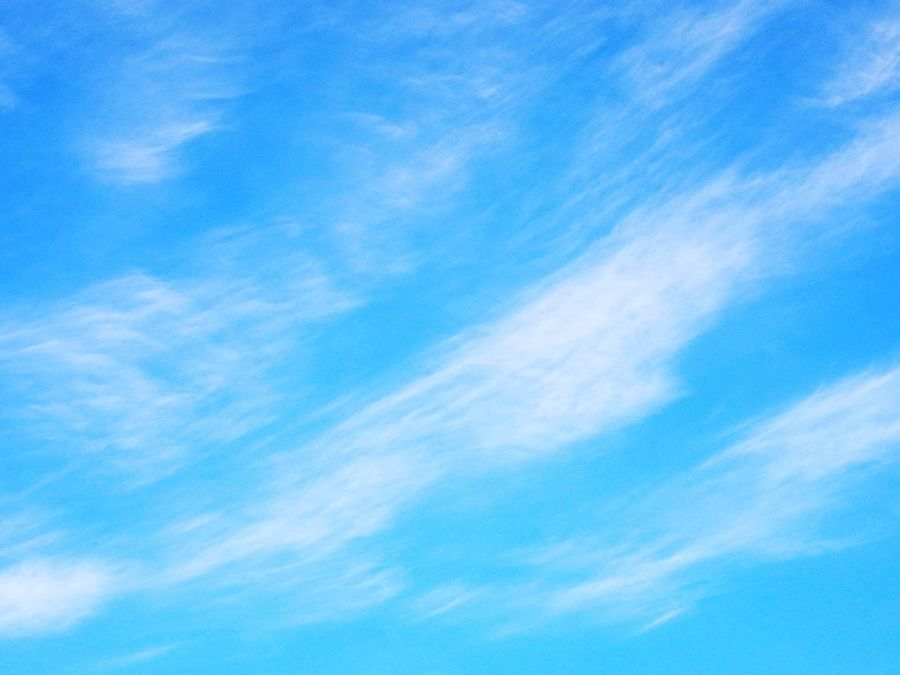 Sommergefühle Blue Sky Backgrounds Cloud - Sky Nature Sky Only Wispy Dramatic Sky Cirrus Weather Scenics Wind Beauty In Nature No People Low Angle View HuaweiP9Photography HuaweiP9 AStepAhead YearOfDualCam Oo Outdoors Textured  Day Summer Neon Life The Week On EyeEm