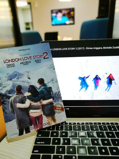 My novel and my movie😍 London Love Story 2❤ still showing in all cinemas in Indonesia Book Writer MOVIE Filmmaker Scriptwriter
