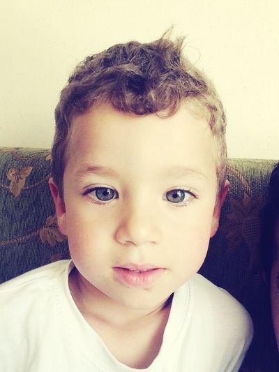 Hello World Mybaby Child Handsome