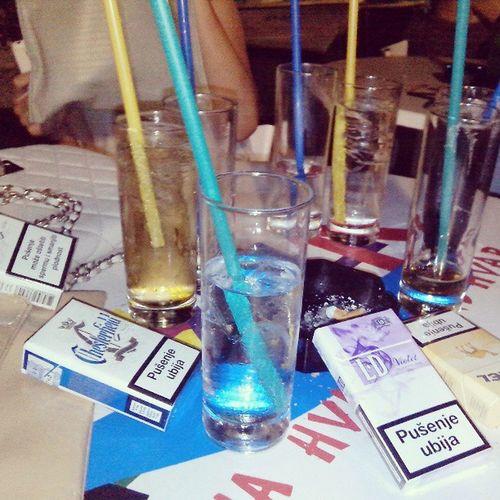 Girls Night Drinking Smoking fun fun enjoying summer days love instamood instalove vodka jeger followme friends Aloha Hvar Croatia likeit