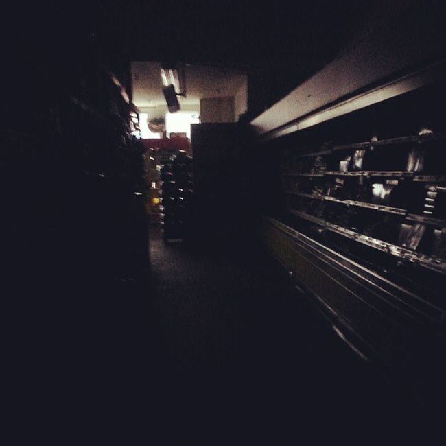 Power outage at work. Best shift ever. Nofrills Nofrillsproblems Outage