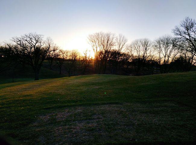 Sunset over Wakonda