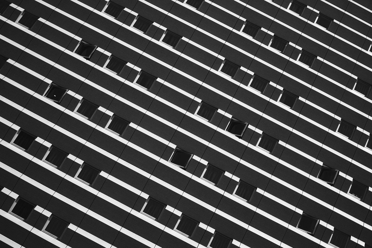Abstract Architecture Blackandwhite Building Exterior Contrast Facades Low Angle View Modern The Architect - 2017 EyeEm Awards