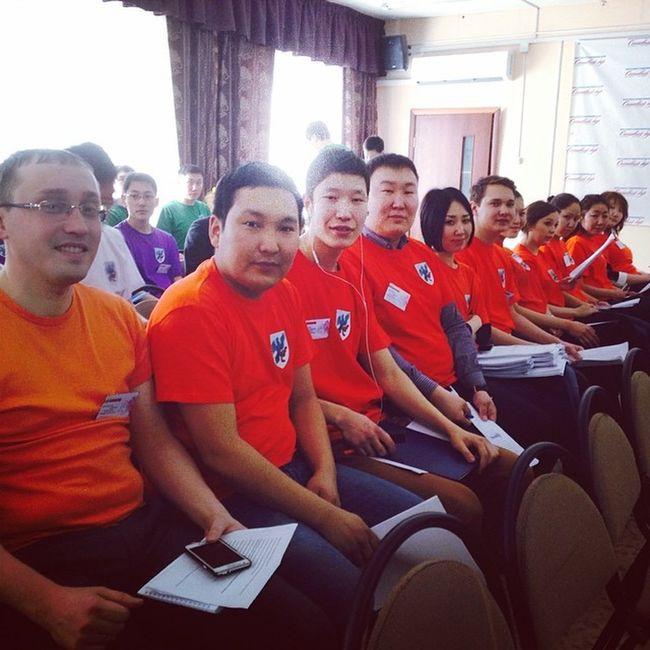 Наша команда мэр14 мэр Business game ykt instaykt me asia people orange