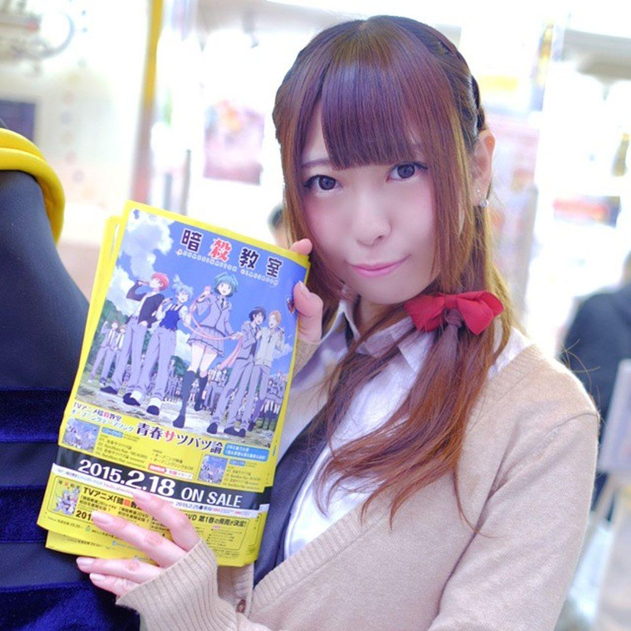 暗殺教室 蝦名彩香 えびちゃん http://t.co/GWAGbB5ZfB