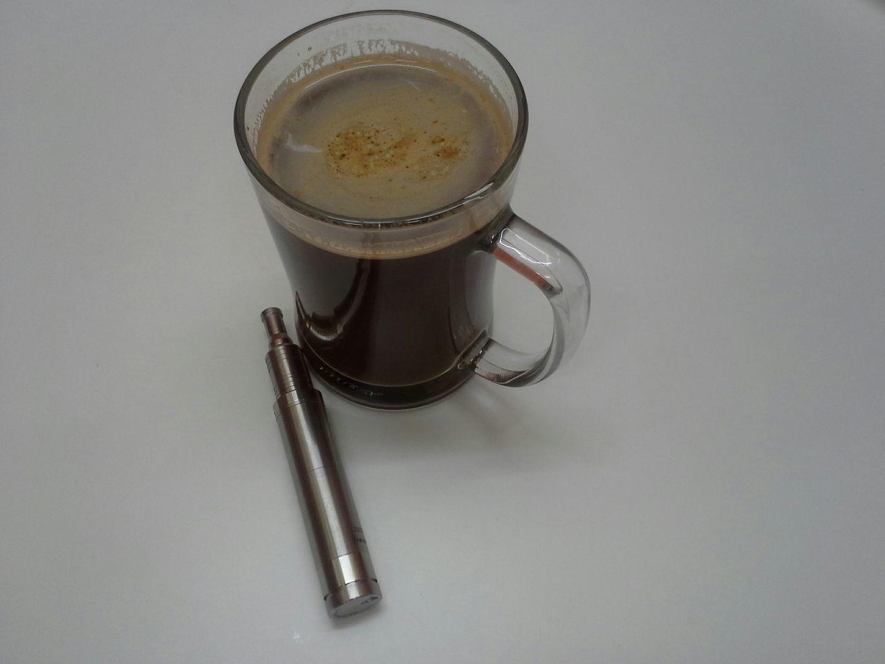 Vapeporn Vape VapeLife Rda Coffee Coffee And Vape Dripper Nemesis Enjoying Life Atomizer