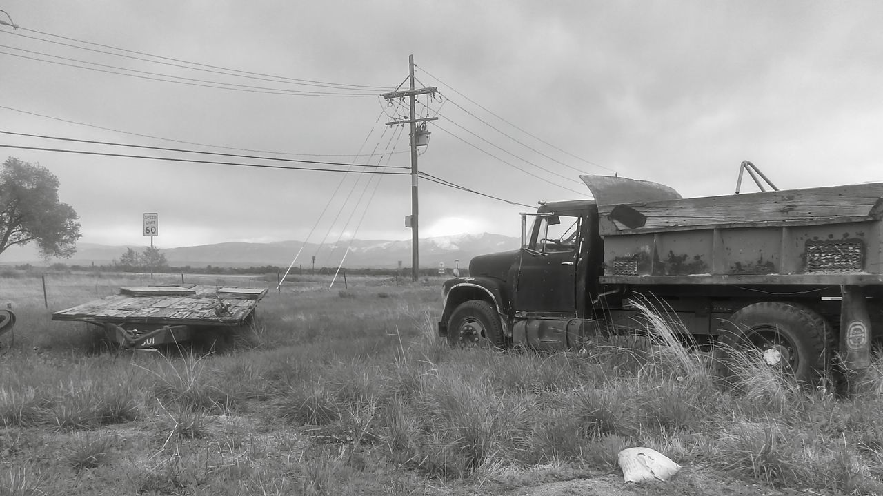 Rocky Mountains International Harvester Rust Dump Truck Overgrown Neglect Farming Scenics Nature Cloud - Sky Outdoors Mountain Storm Cloud Road Rural Scene Landscape Beauty In Nature Sunlight No People Day Sky Fog The Great Outdoors - 2017 EyeEm Awards Mountain Range Tranquility