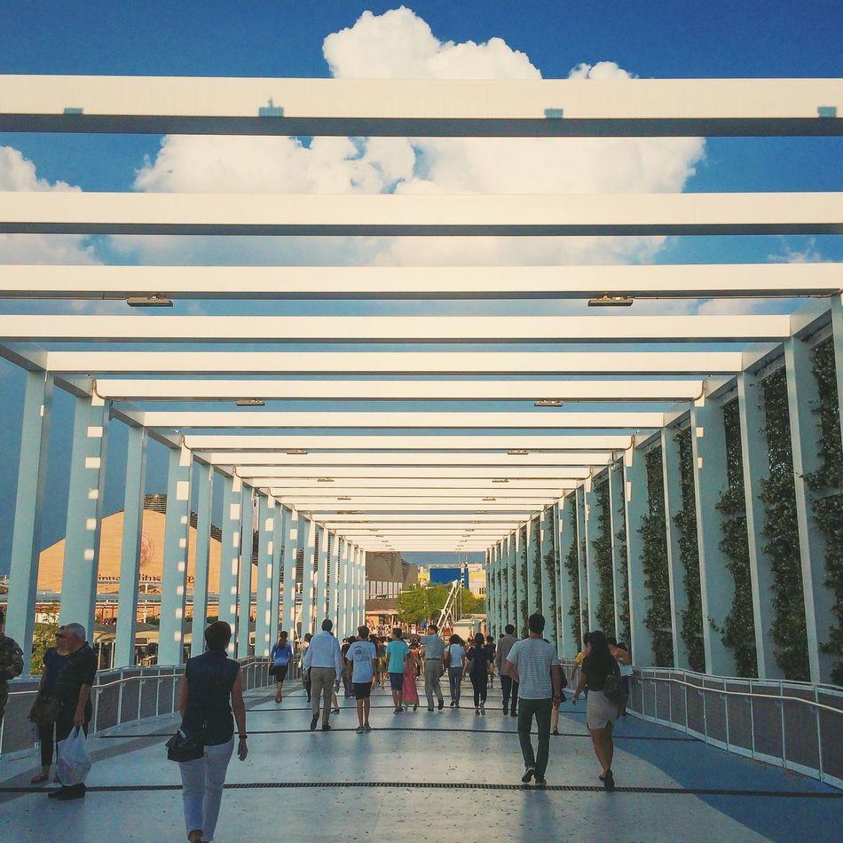 Beautiful stock photos of milan, Bridge, Cloud, Commuter, Connection