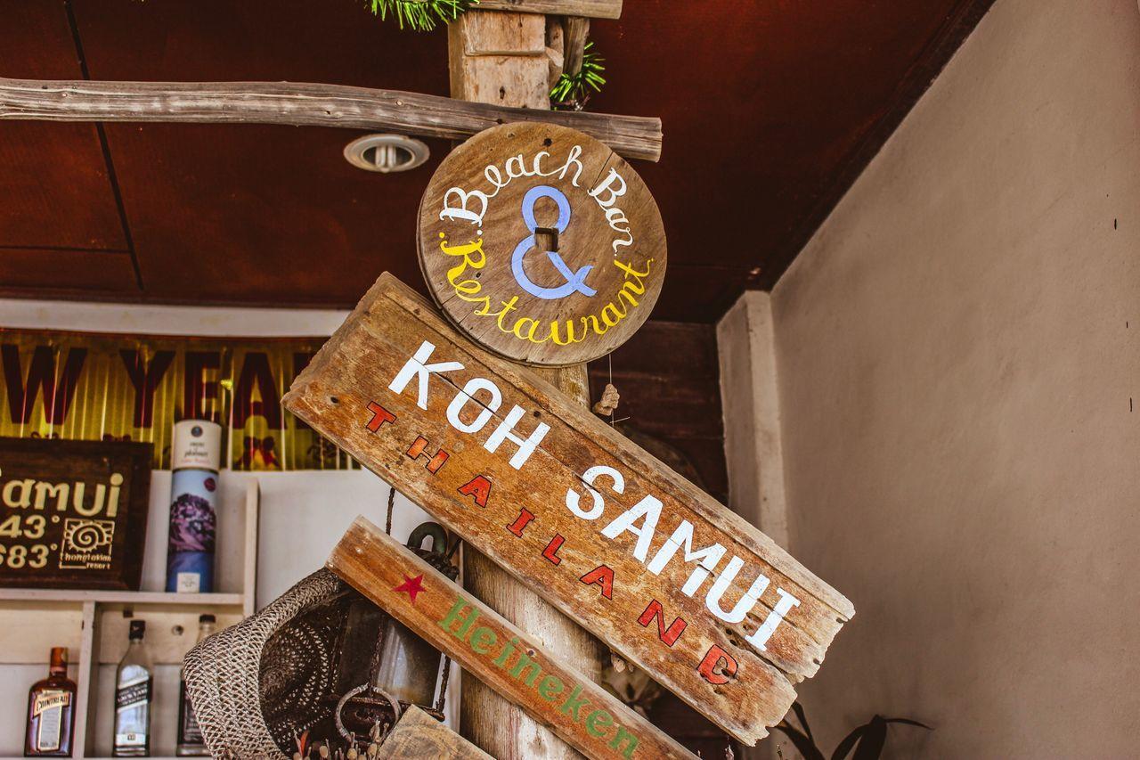 Silver Beach, Koh Samui Text Time Communication Clock No People Indoors  Clock Face Minute Hand Day Kosamui Kohsamui Thailand Thailand_allshots Scenics Bar Bar Life Beach Bar Heineken