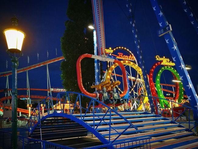 Prater Prater/Vienna Amusement Parks City Lights Vienna Wien Theme Park Themepark Volksprater Wurstelprater HuaweiP9 Huawei
