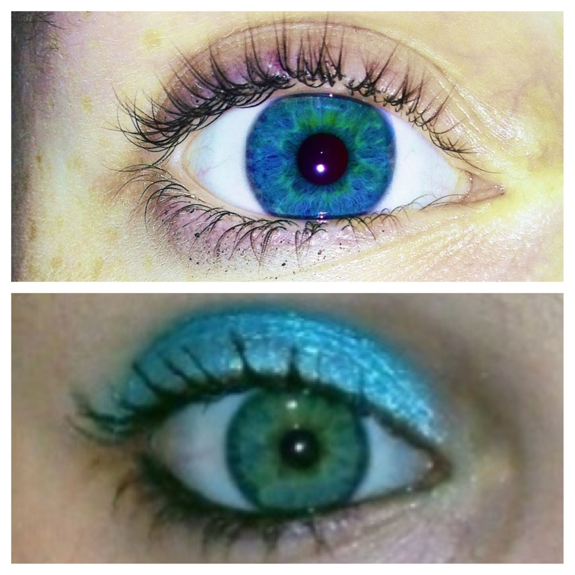 My Eyes Change Colors!