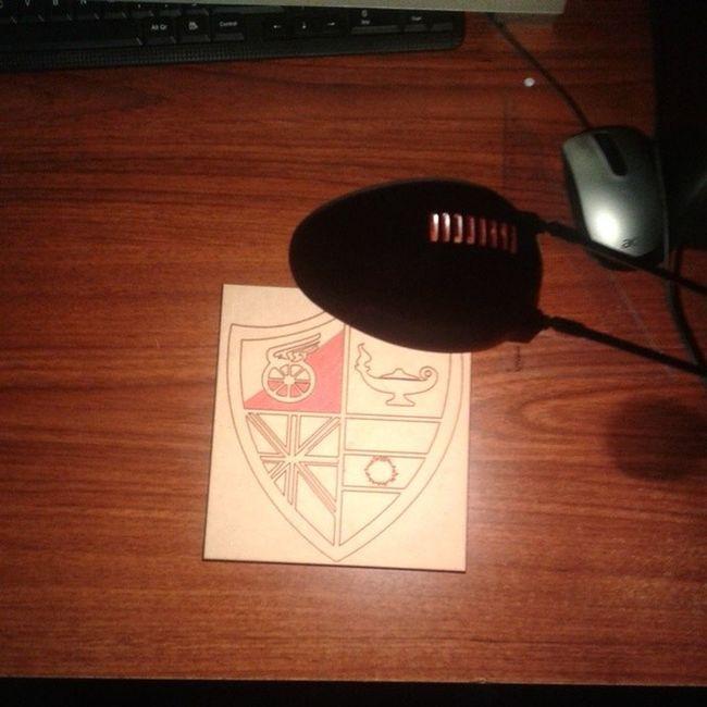 Pintando el escudo mas lindo de Argentina. Red Black Newells Art love