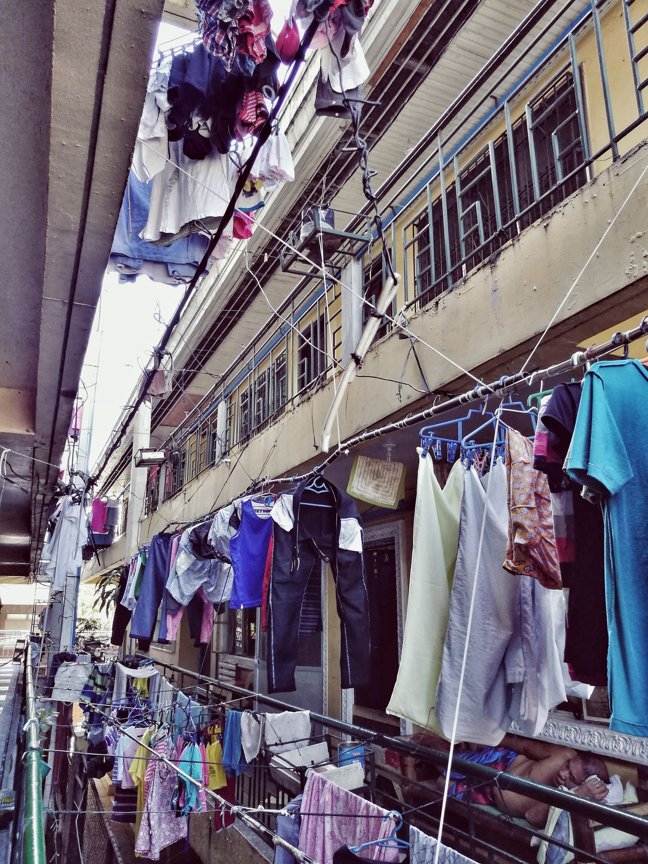 Laundry Sunshine Sunny Hungclothes Summer Philippines Saturday Structure Structures & Lines Complexity
