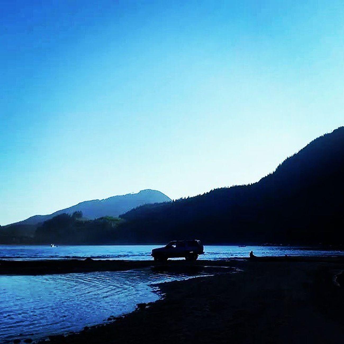 Stavelake 4wheel 4x4 4wheelforlife mudding mud lake landscape dusk beautifulBC thisisthelife