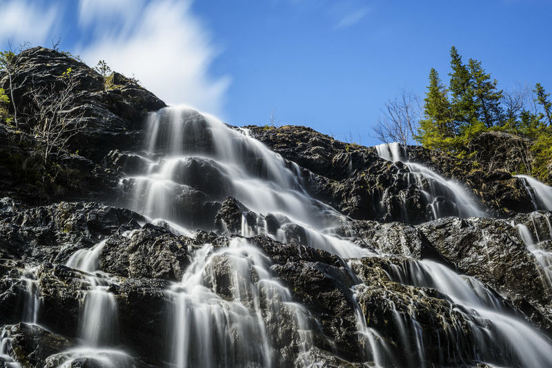 Splashing Flowing Water Running Water Power In Nature Long Exposure Water No People Waterfall Scenics Freshness Sweden Planet Earth Landscape Sweden-landscape Beauty In Nature Outdoors Nature