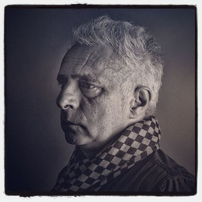My portrait of Hanif Kureishi