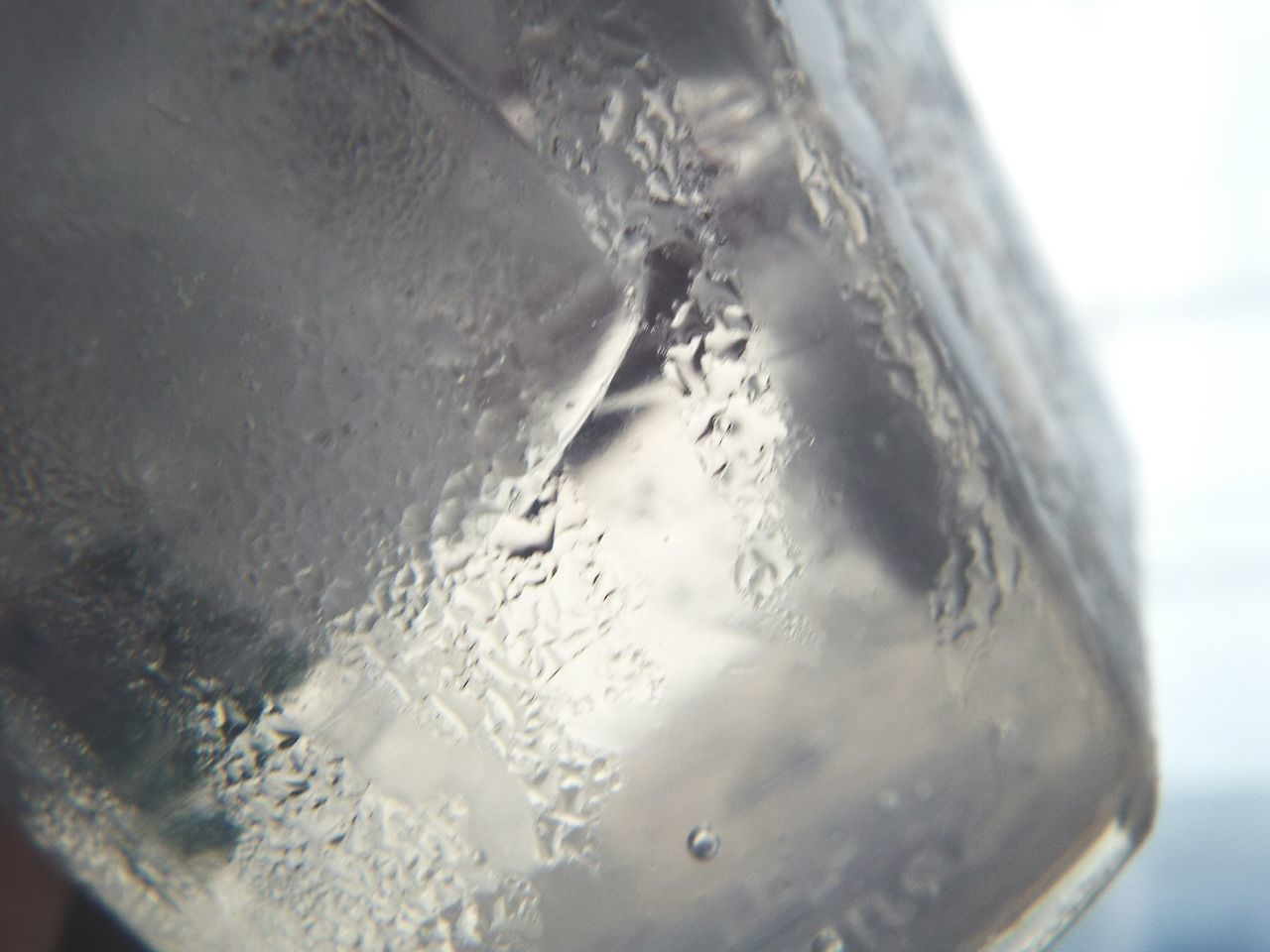 Close-up Water Day Bored Taking Photos Experimenting... Liquid Indoors  Ice Cold