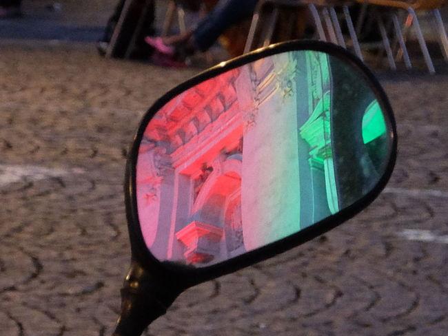 Euro 2016 Green & Red Mirror Porto Portugal Reflex Town Hall Streetphotography_fujifilm Fine Art Photography Colour Of Life