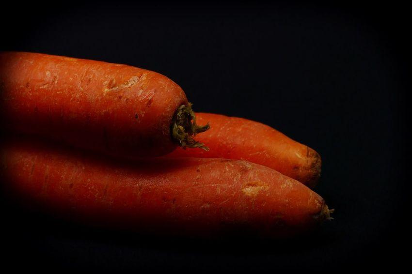 Carrots Orange Color Food And Drink Vegtables Wurzelgemüse Gemüse Karotten Carrots Black Background Close-up Food Studio Shot No People Red Indoors  Day Freshness