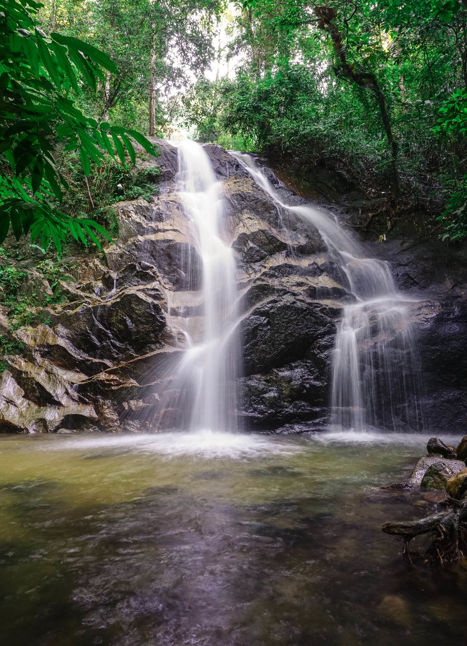 Sungai kanching Water Nature No People Beauty In Nature Motion Outdoors Scenics Day Waterfall Grass Tree Sky Beauty In Nature Landscape_photography EyeEm Best Shots Landscape Nature_collection Nature_perfection Waterfalls And Calming Views  Waterfalls💦 Green Leaf Travel Destinations Tree River
