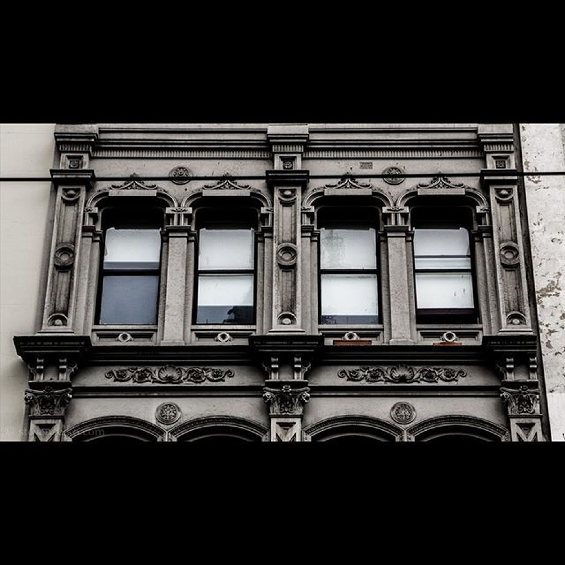 Windows above Swanston