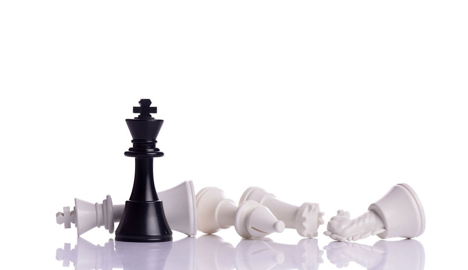 chess Chess Chess Piece Close-up Competition Copy Space King - Chess Piece Knight - Chess Piece No People Queen - Chess Piece Still Life Strategy Studio Shot White Background