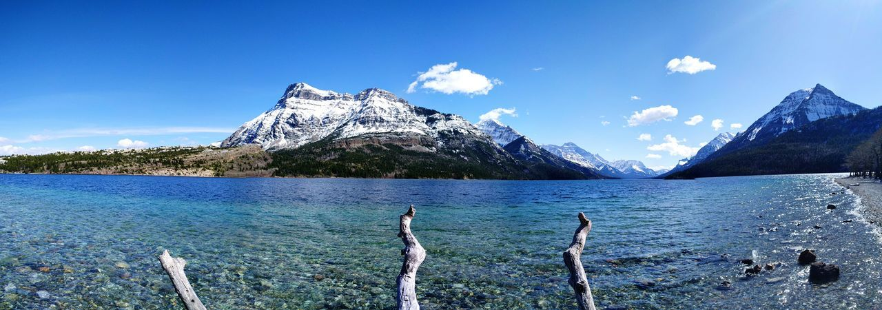 Explore Your World Mountains Lake View Snow Canada Outdoors First Eyeem Photo