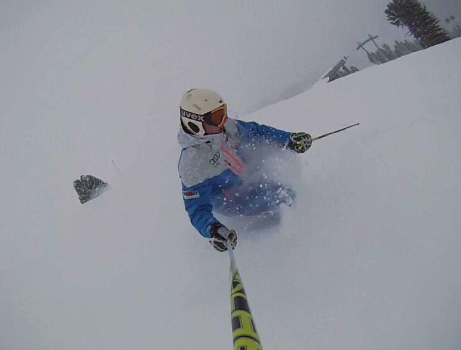Skiing Snow ❄ Powder Powderdays Nofriendsonpowderdays