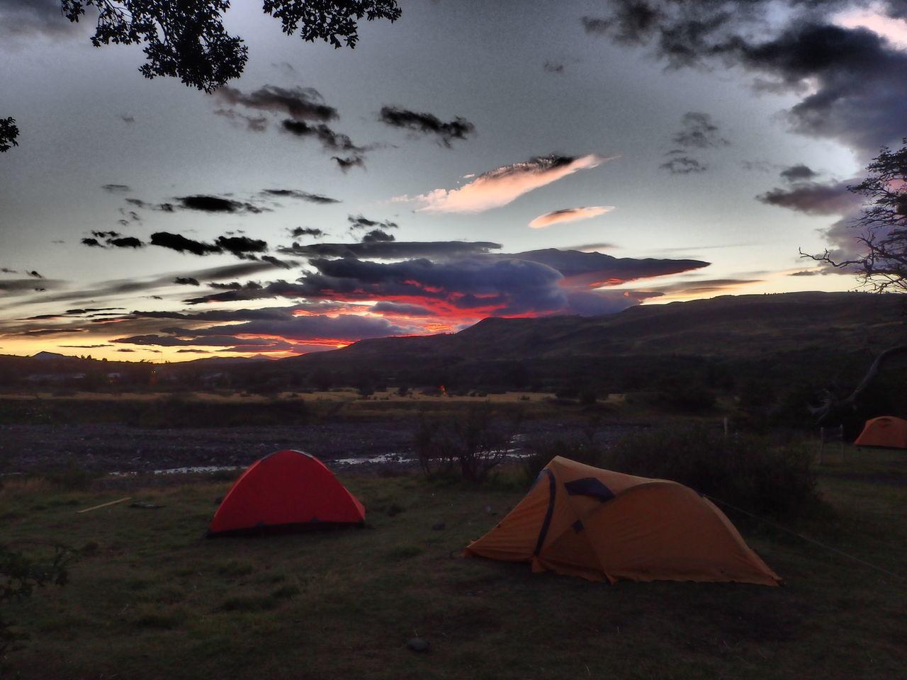 Sunset in Torres Del Paine