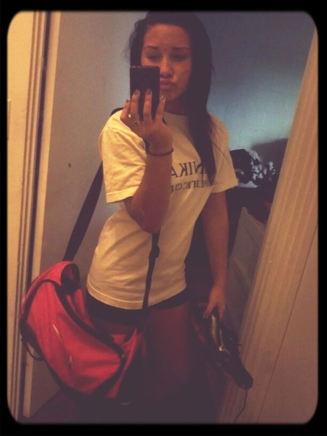 Stress and Dramas .... time too take it out on the courts! (; #Volleyball #MyLife