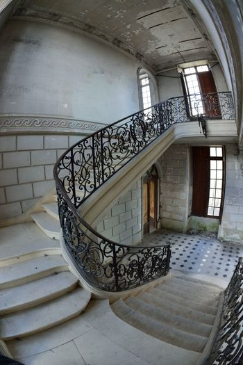 Abandoned Abandoned Places Architecture Built Structure Castle Château Château Des Singes Day Design Exploration Exploring Hand Rail Indoors  Moth4fok No People Railing Spiral Spiral Stairs Staircase Stairs Steps Steps And Staircases Urbaine Urban Urbex The Architect - 2017 EyeEm Awards EyeEmNewHere Sommergefühle EyeEm Selects Your Ticket To Europe