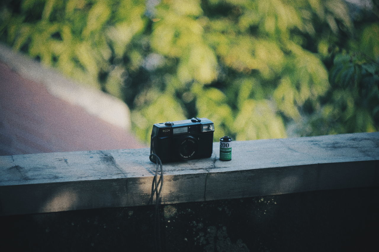 Old camera.. // Day No People Outdoors Camera - Photographic Equipment Close-up Nature Oldcameras Kodak Portra Film Photography Filmphotography Filmlook