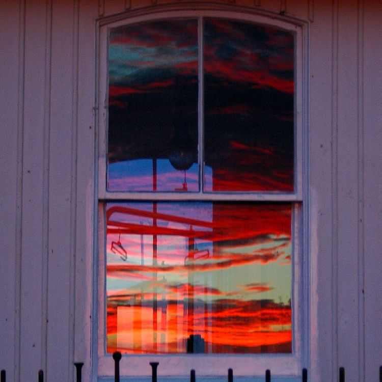 Sunset reflection Window Sky Vibrant Color Cloud - Sky Reflection The Great Outdoors Scotland