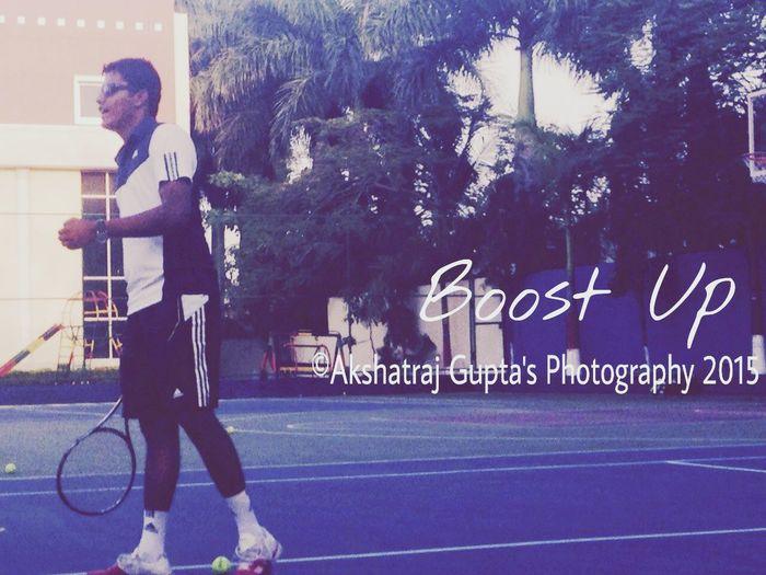 ©Akshatraj Gupta's Photography 2015 Tenniscourt Tennisplayer Mycoach Tenniscoach Boost Up Originalsimplephoto 7th Eyeem Photo EyeEm Best Shots Things I Like Telling Stories Differently My Commute