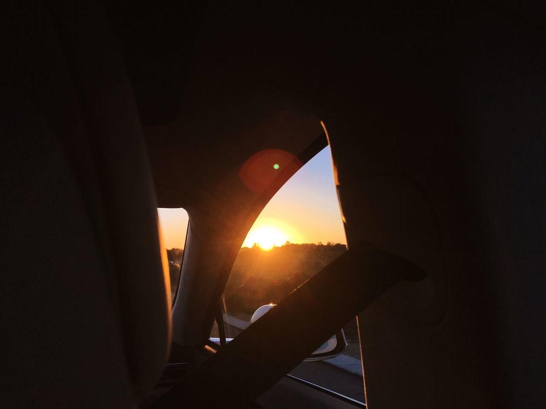 Car Vehicle Interior No People Indoors  Land Vehicle Close-up Sunset