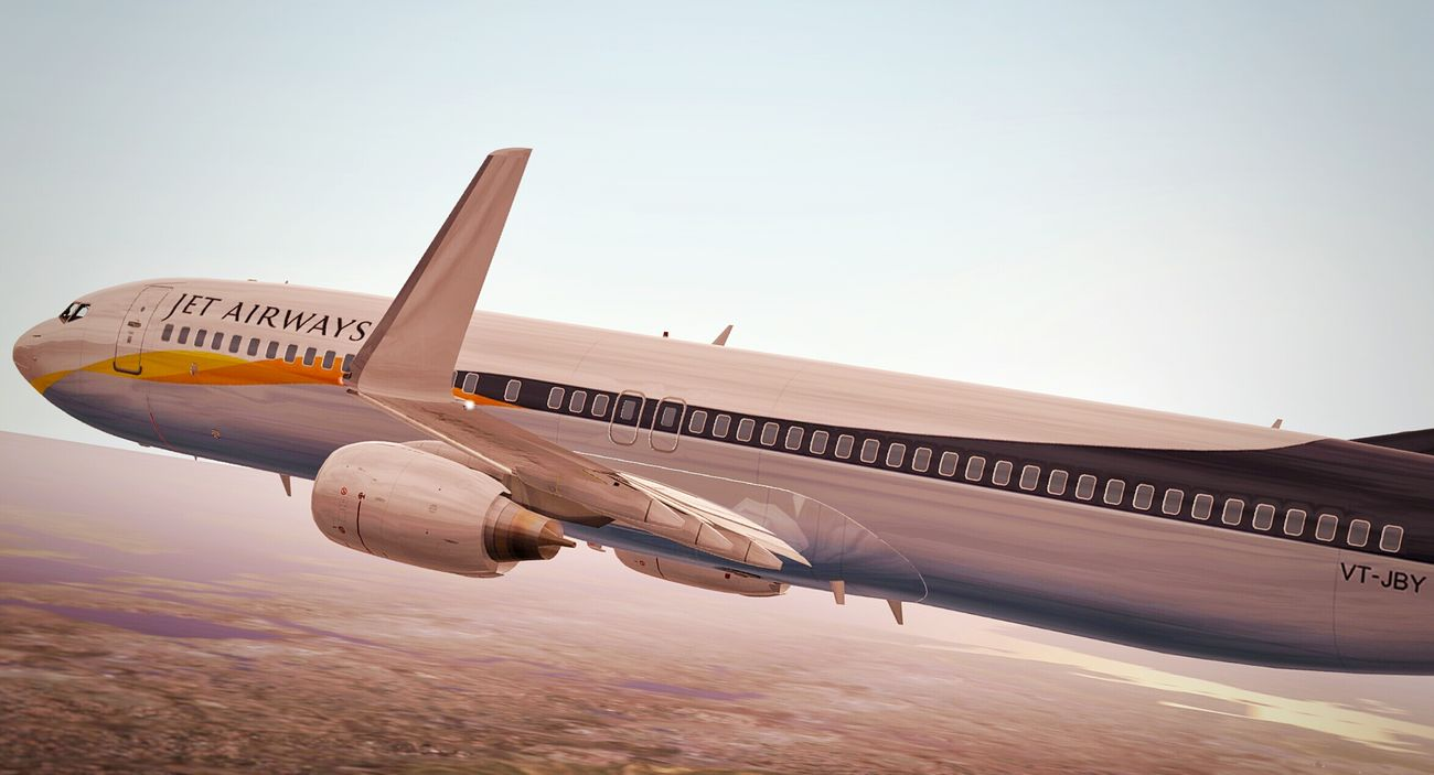First try, a Jet Airways 737 on approach. Infiniteflightsimulator Avgeek First Eyeem Photo