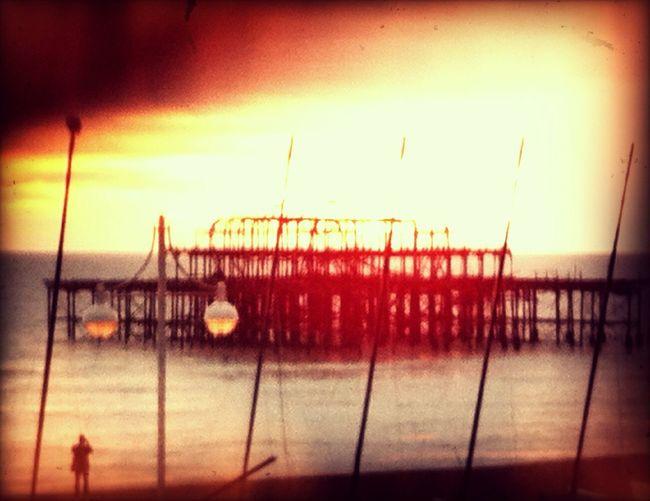 Walking around at Brighton Seafront Walking Around