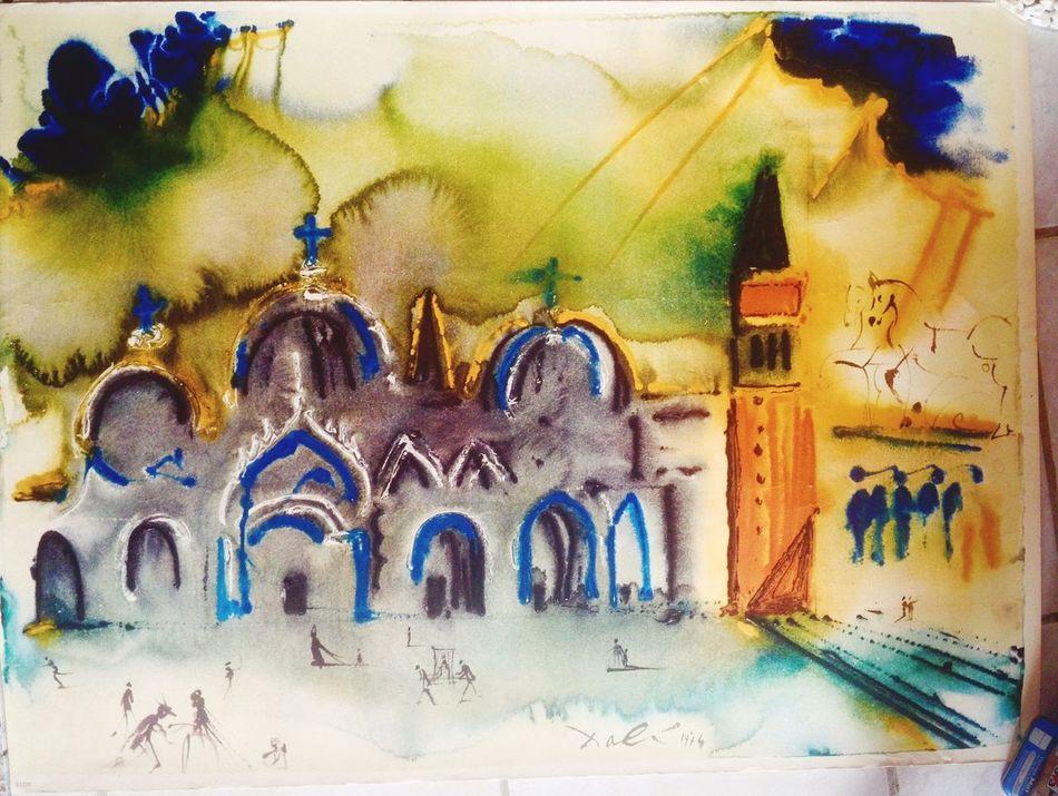 Ma litho de Dali Nelaton Marie-france Dalí Lithography