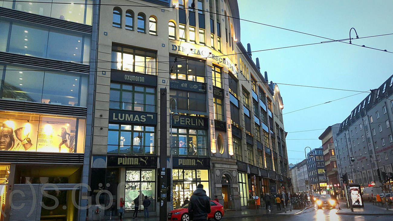 Hackescher Markt Architecture Travel Destinations Building Exterior Built Structure Business Finance And Industry Outdoors Cityscape City Photography Berlin Life Berlin Berlin Photography Taking Photos Berlin, Germany  My Fucking Berlin City Street Old Buildings Travelgram Travel Photography Tourism Destination Old But Gold Building Shopping Welcome To Berlin