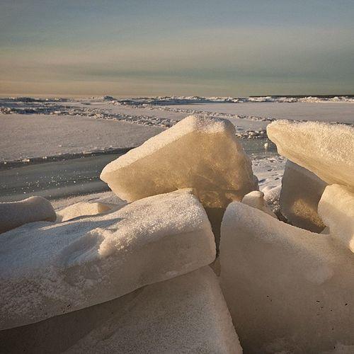 Finland_gulf Winter Russia Beach ice snow sunrise horizon sky
