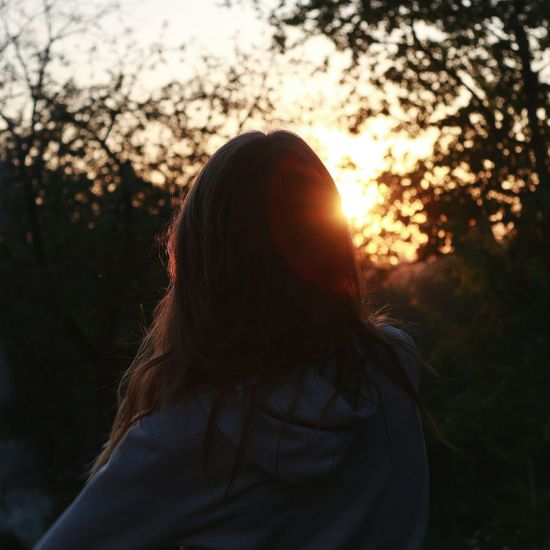 Sunset Sunset_collection Girls Cool Beutiful  Beutiful Day Love To Take Photos ❤ Love ♥ Love Back Lit Freedom Women Nature People Young Women One Person SexyGirl.♥ Sun Marry Christmas Happy New Year Happy :)