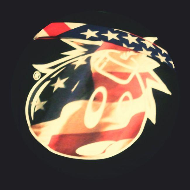 """The Hundreds """"Adam Relief"""" X US Flag Bandana"""